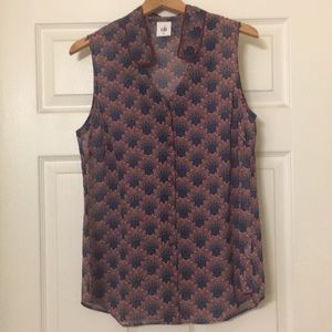 NWOT cabi fan blouse size medium